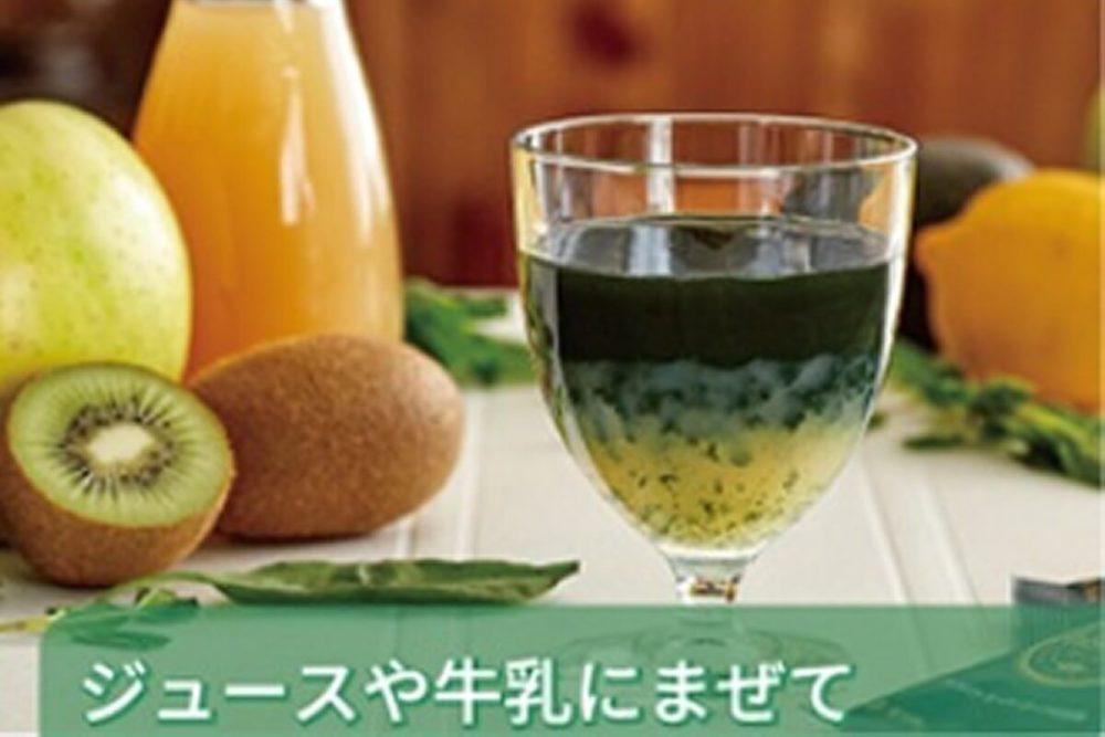 タベルモ(スピルリナ)のアレンジ1